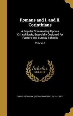 Bog, hardback Romans and I. and II. Corinthians