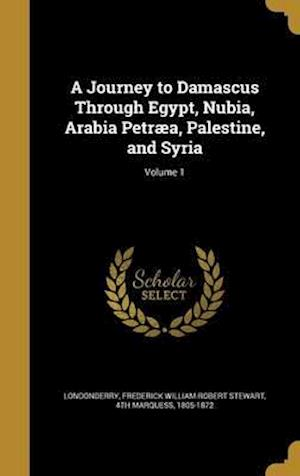 Bog, hardback A Journey to Damascus Through Egypt, Nubia, Arabia Petraea, Palestine, and Syria; Volume 1