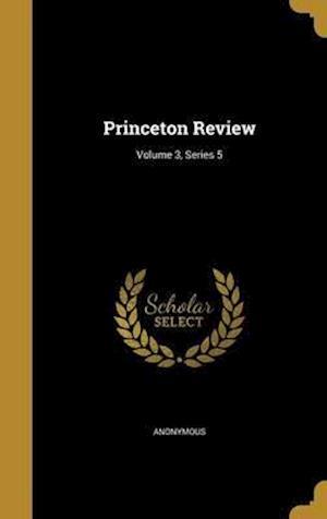 Bog, hardback Princeton Review; Volume 3, Series 5