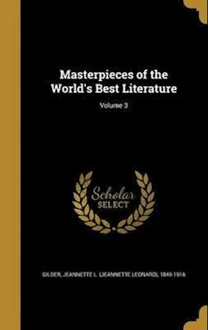 Bog, hardback Masterpieces of the World's Best Literature; Volume 3