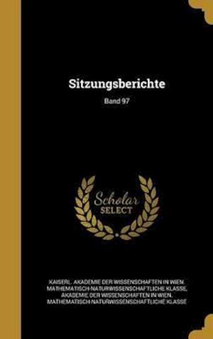 Bog, hardback Sitzungsberichte; Band 97