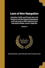 Laws of New Hampshire af Albert Stillman 1850-1913 Batchellor