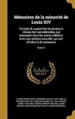 Bog, hardback Memoires de La Minorite de Louis XIV