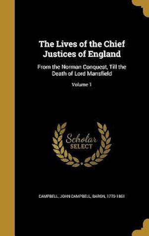 Bog, hardback The Lives of the Chief Justices of England