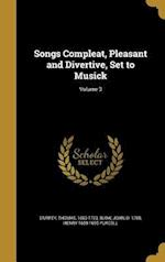 Songs Compleat, Pleasant and Divertive, Set to Musick; Volume 3 af Henry 1659-1695 Purcell