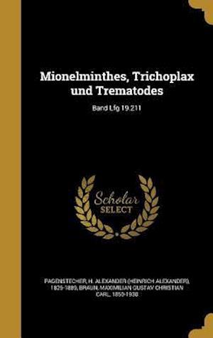Bog, hardback Mionelminthes, Trichoplax Und Trematodes; Band Lfg 19.211