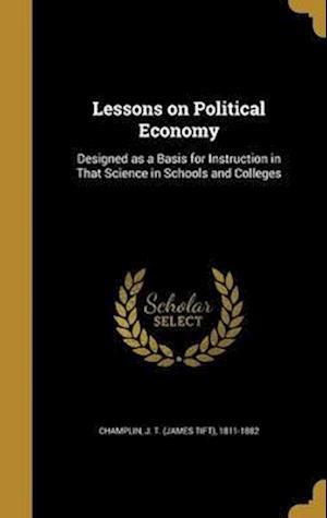 Bog, hardback Lessons on Political Economy