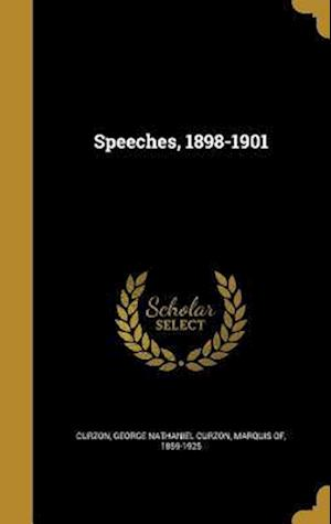 Bog, hardback Speeches, 1898-1901