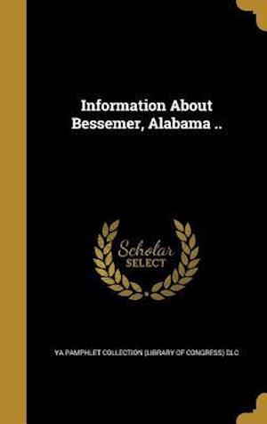 Bog, hardback Information about Bessemer, Alabama ..