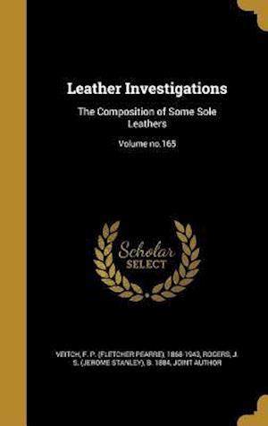 Bog, hardback Leather Investigations