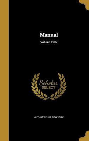 Bog, hardback Manual; Volume 1902