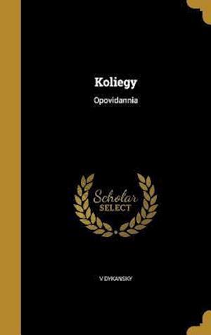 Bog, hardback Koliegy af V. Dykansky