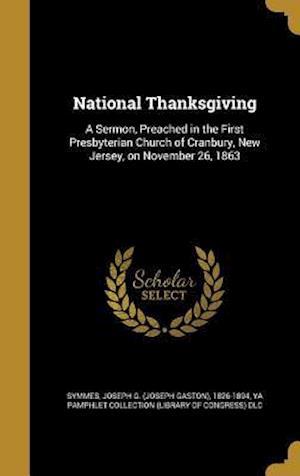 Bog, hardback National Thanksgiving