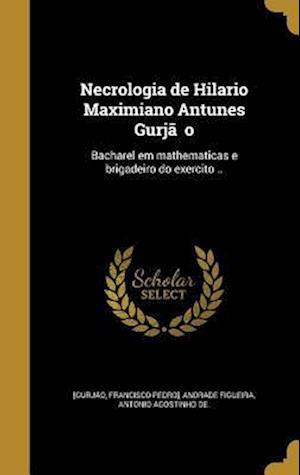 Bog, hardback Necrologia de Hilario Maximiano Antunes Gurja O