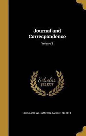 Bog, hardback Journal and Correspondence; Volume 3