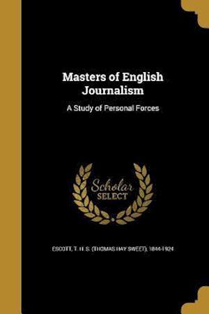 Bog, paperback Masters of English Journalism