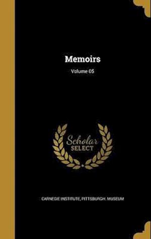 Bog, hardback Memoirs; Volume 05