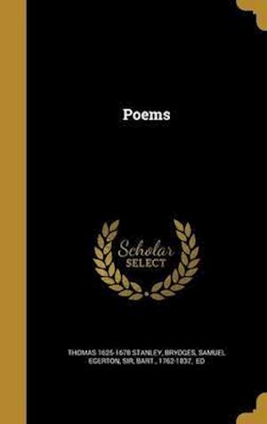 Bog, hardback Poems af Thomas 1625-1678 Stanley