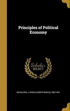 Bog, hardback Principles of Political Economy