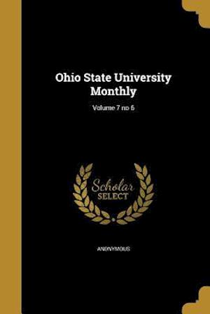 Bog, paperback Ohio State University Monthly; Volume 7 No 6