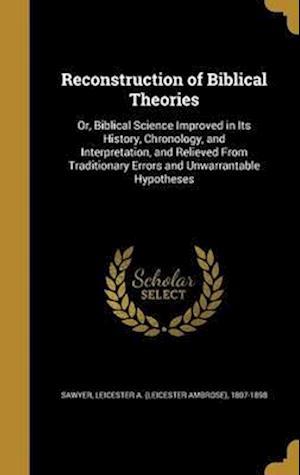 Bog, hardback Reconstruction of Biblical Theories