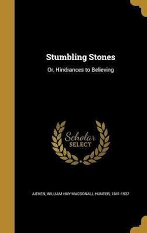 Bog, hardback Stumbling Stones