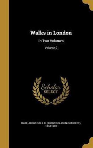 Bog, hardback Walks in London