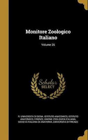 Bog, hardback Monitore Zoologico Italiano; Volume 26