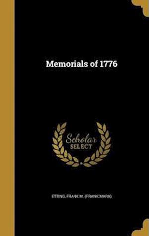 Bog, hardback Memorials of 1776