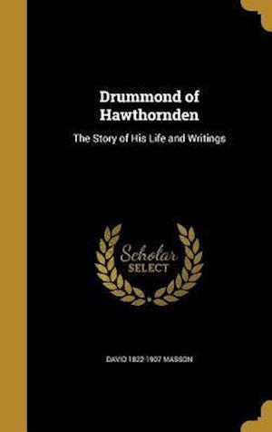 Bog, hardback Drummond of Hawthornden af David 1822-1907 Masson