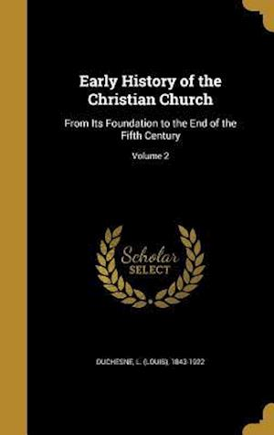 Bog, hardback Early History of the Christian Church