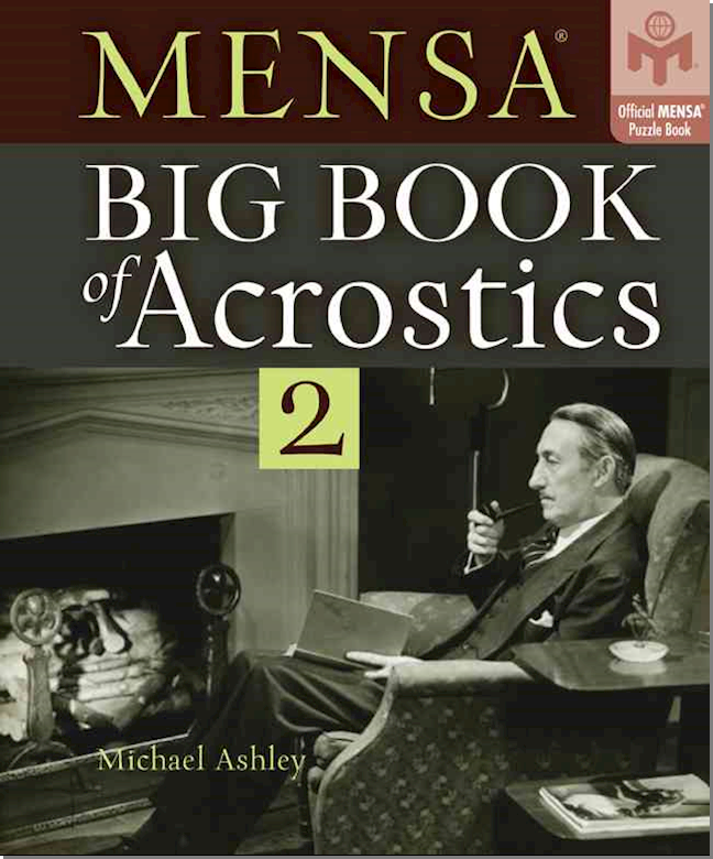 Mensa Big Book Of Acrostics