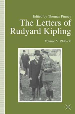 The Letters of Rudyard Kipling af Rudyard Kipling, Thomas Pinney