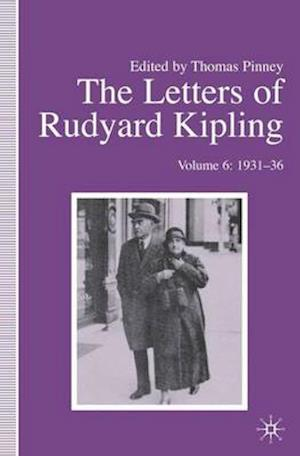 The Letters of Rudyard Kipling af Thomas Pinney, Rudyard Kipling