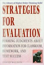 Strategies for Evaluation af David Wilson