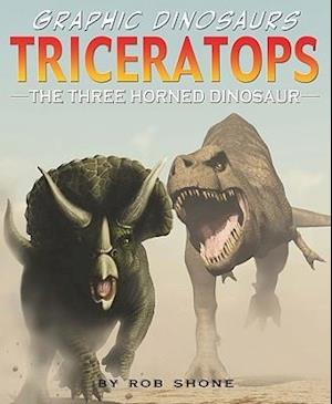 Bog, hardback Triceratops af Rob Shone