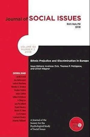 Prejudice and Discrimination in Europe af Andreas Zick, Thomas F Pettigrew, Ulrich Wagner