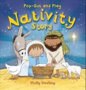 Pop-Out and Play Nativity Story af Holly Sterling