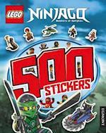LEGO Ninjago 500 Stickers af Egmont UK Ltd