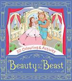 Beauty and the Beast (3D Colouring Activity)
