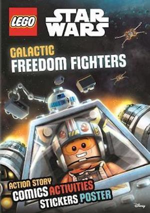 Bog, paperback LEGO Star Wars: Galactic Freedom Fighters (Sticker Poster Book) af Egmont UK Ltd