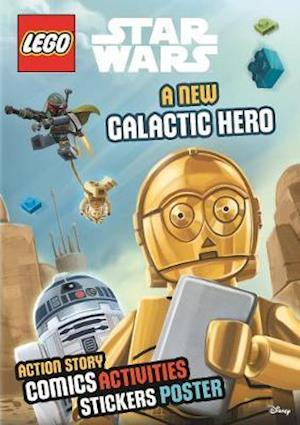 Bog, paperback LEGO Star Wars: A New Galactic Hero (Sticker Poster Book) af Egmont UK Ltd