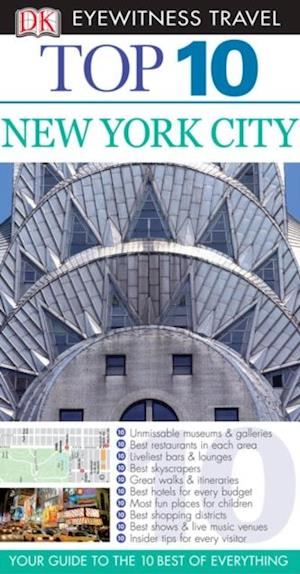 DK Eyewitness Top 10 Travel Guide: New York City af Eleanor Berman