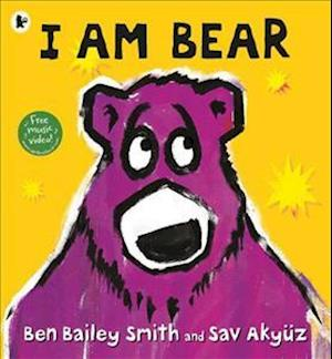 Bog, paperback I am Bear
