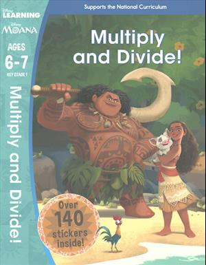 Bog, paperback Moana: Multiplication and Division (Ages 6-7) af Scholastic