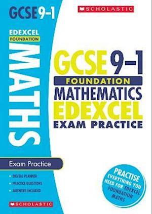 Bog, paperback Maths Foundation Exam Practice Book for Edexcel af Naomi Norman