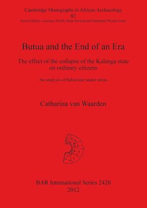 Bog, paperback Butua and the End of an Era af Catharina Van Waarden