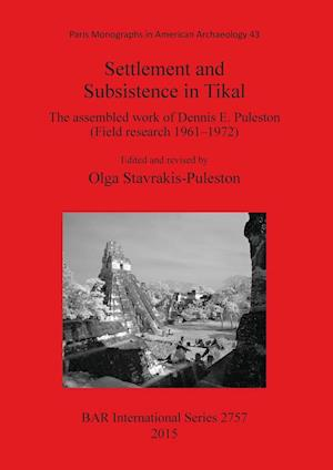 Bog, paperback Settlement and Subsistence in Tikal