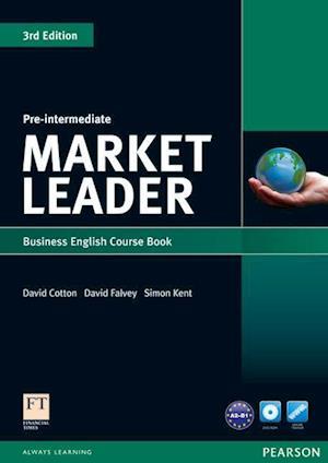 Market Leader Pre-intermediate Coursebook & DVD-rom Pack af Simon Kent, David Falvey, David Cotton