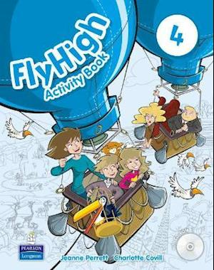 Fly High Level 4 Activity Book and CD-ROM Pack af Amanda Thomas, Jeanne Perrett, Charlotte Covill